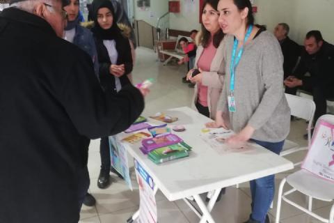 KETEM, Hastanemizde Serviks Kanseri İle İlgili Etkinlik Yaptı